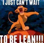 fitness lean lion king
